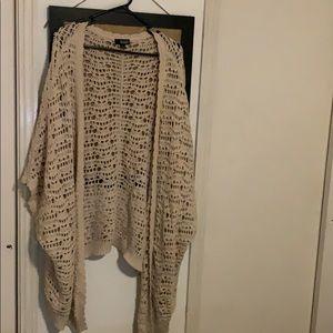 a.n.a 1X Crochet Cardigan